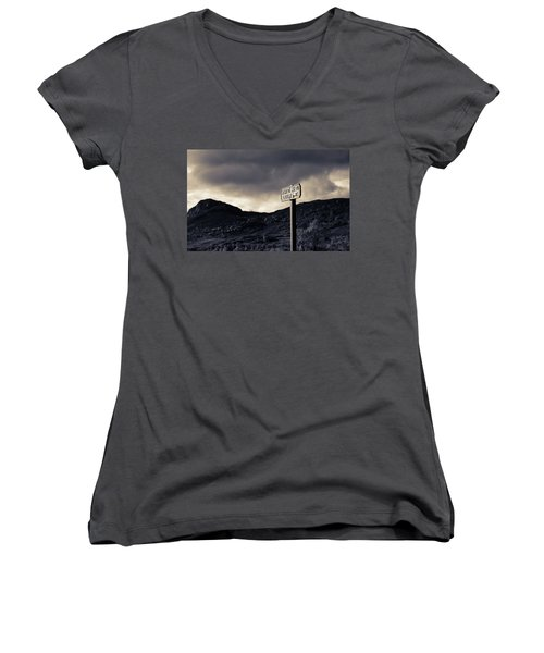 Right Of Way To Laggan Women's V-Neck (Athletic Fit)