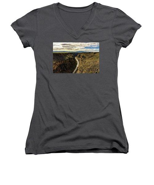 Rio Grande Gorge  Women's V-Neck