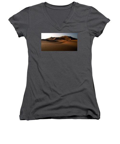 Ripples In The Sand Women's V-Neck T-Shirt