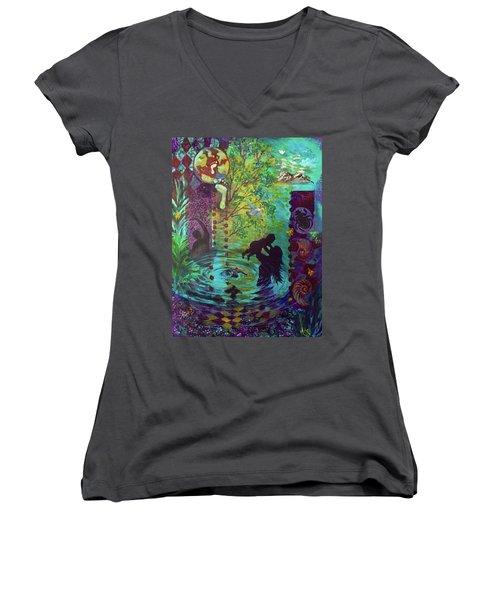 Rise Again Women's V-Neck T-Shirt