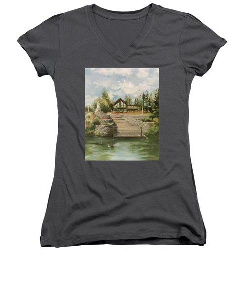 Rita's House Women's V-Neck T-Shirt