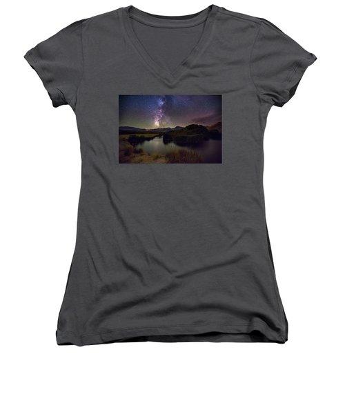 River Bend Women's V-Neck T-Shirt