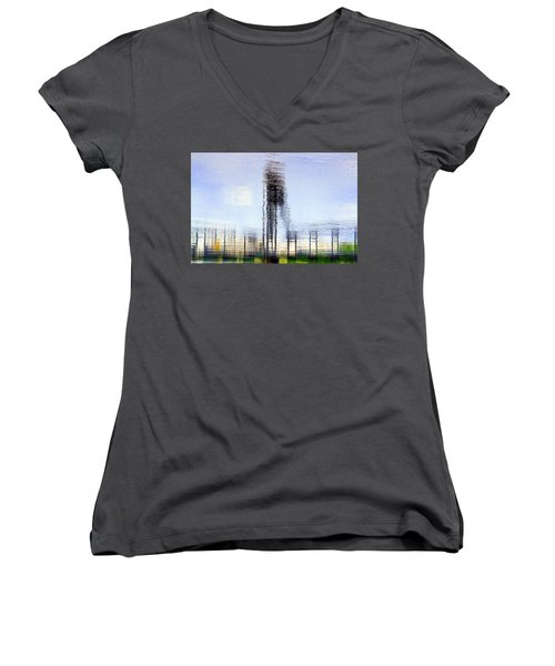 River Reflections Women's V-Neck