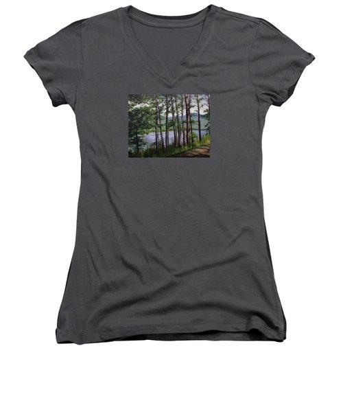 River Road Women's V-Neck T-Shirt