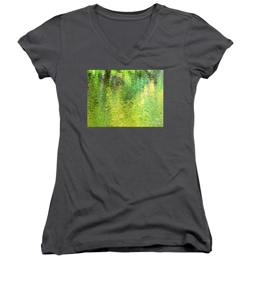 River Sanctuary Women's V-Neck T-Shirt