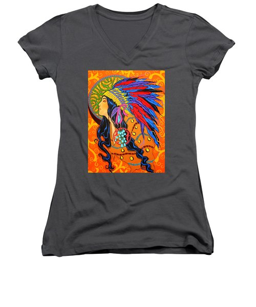 River Song  Women's V-Neck T-Shirt