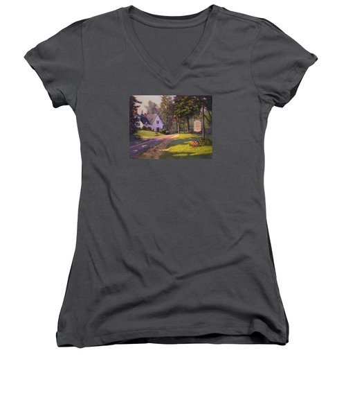Road Home Women's V-Neck (Athletic Fit)