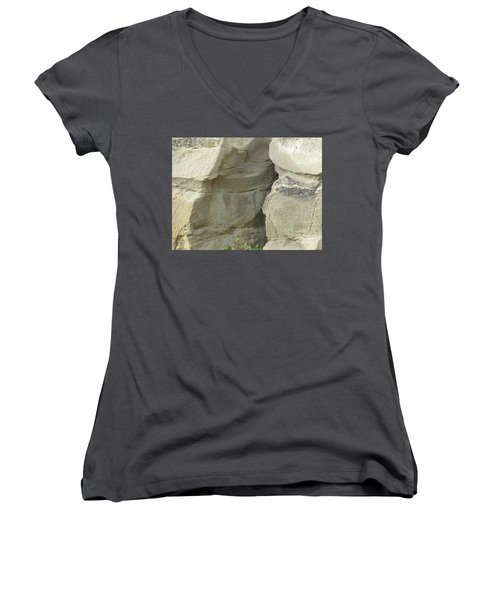 Rock Cleavage Women's V-Neck