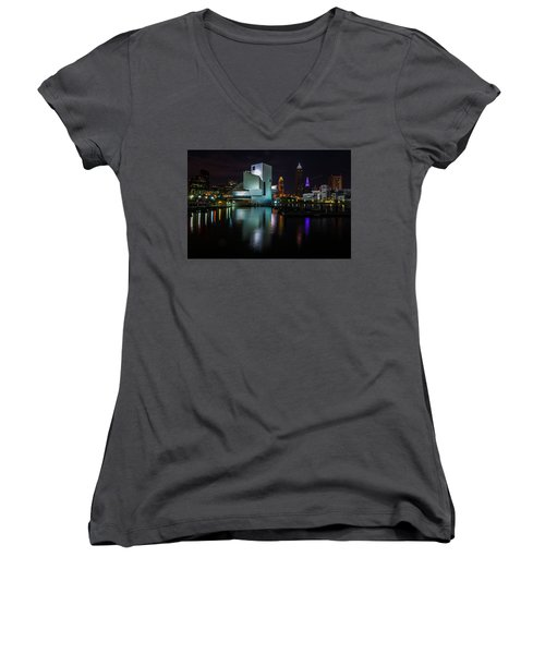 Rock Hall Reflections Women's V-Neck