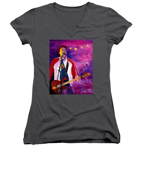 Rock On Tom Women's V-Neck