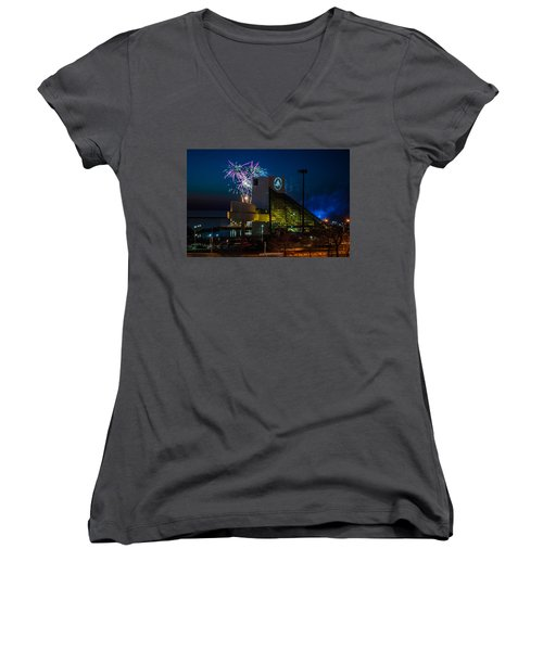 Rocking Fireworks Women's V-Neck