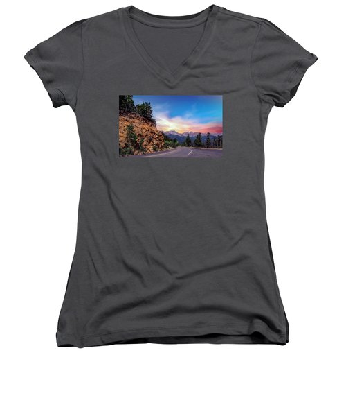 Rocky Mountain High Road Women's V-Neck