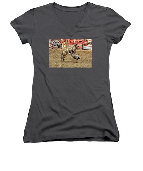 Rodeo 4 Women's V-Neck (Athletic Fit)