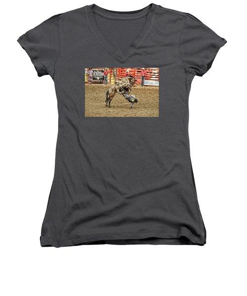 Rodeo 4 Women's V-Neck T-Shirt
