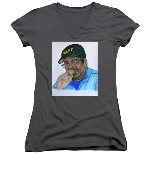 Roderick Height  Women's V-Neck T-Shirt