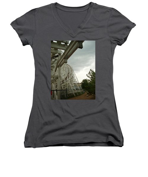 Roller Coaster 5 Women's V-Neck (Athletic Fit)