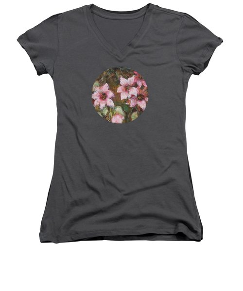 Romance Women's V-Neck T-Shirt (Junior Cut) by Mary Wolf