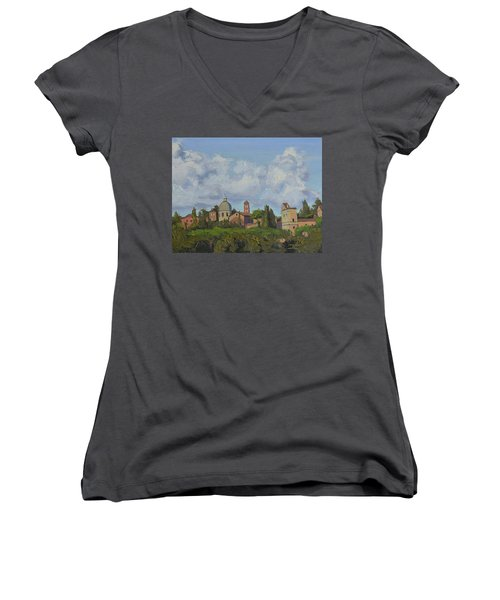 Rome Afternoon Women's V-Neck
