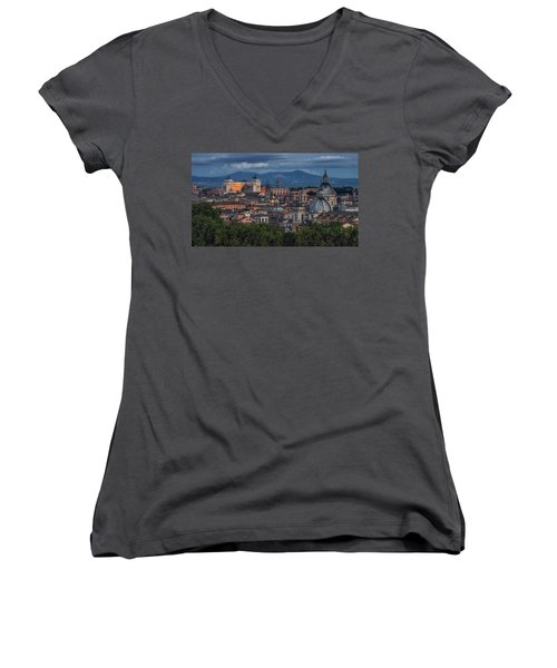 Rome Twilight Women's V-Neck