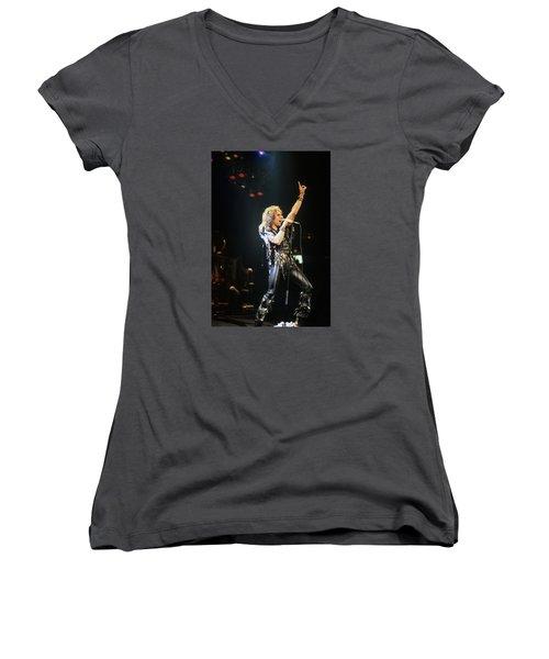 Ronnie James Dio Women's V-Neck