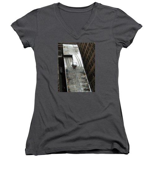 Roof Access Women's V-Neck T-Shirt