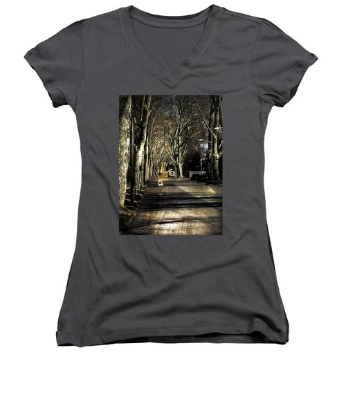 Roosevelt Avenue II Women's V-Neck (Athletic Fit)