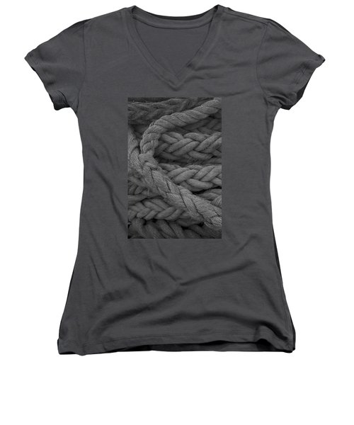 Rope I Women's V-Neck T-Shirt