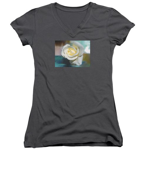 Rose And Lights Women's V-Neck T-Shirt