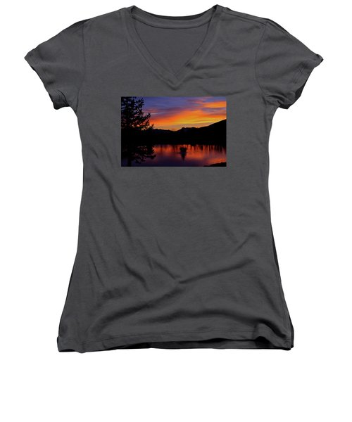 Rose Canyon Morning Women's V-Neck (Athletic Fit)