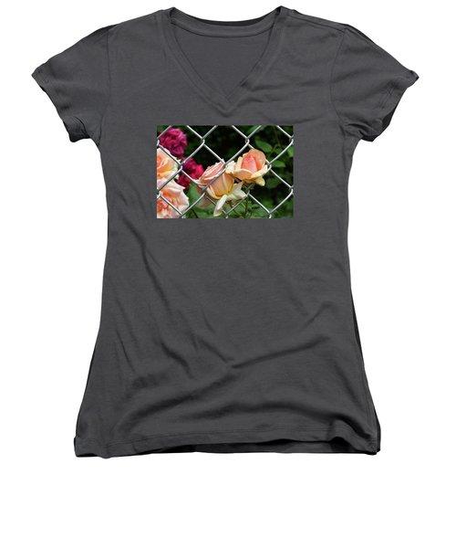 Rose Fence Women's V-Neck