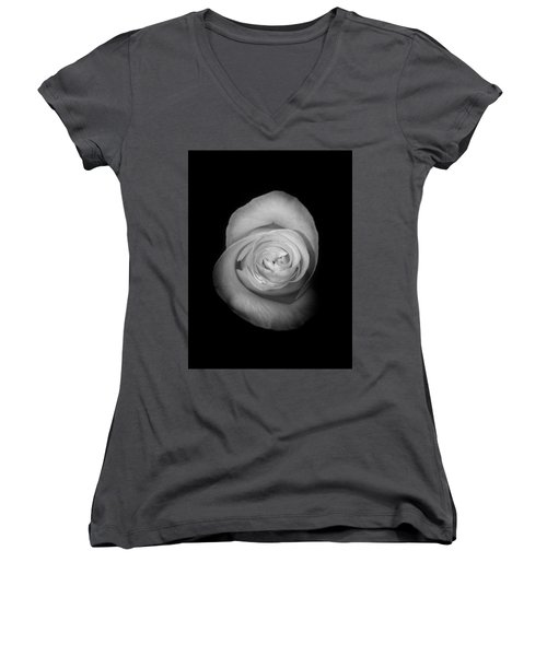 Rose From The Shadows Women's V-Neck (Athletic Fit)