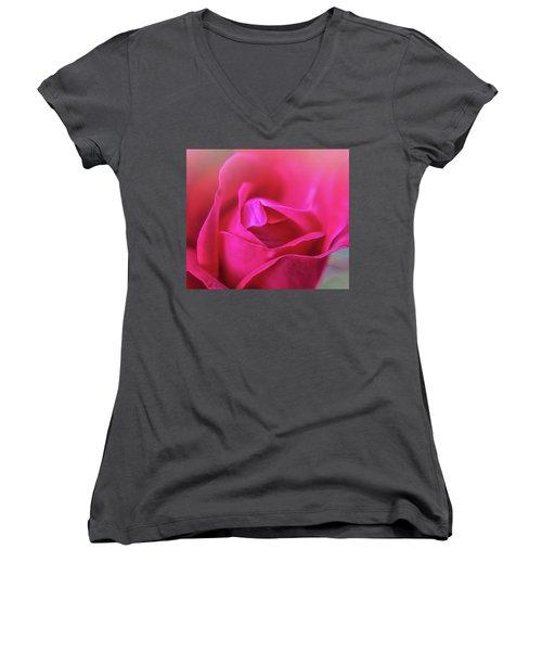 Rosebud Madness Women's V-Neck