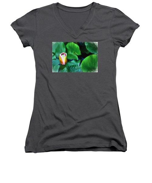 Rough Water Women's V-Neck T-Shirt