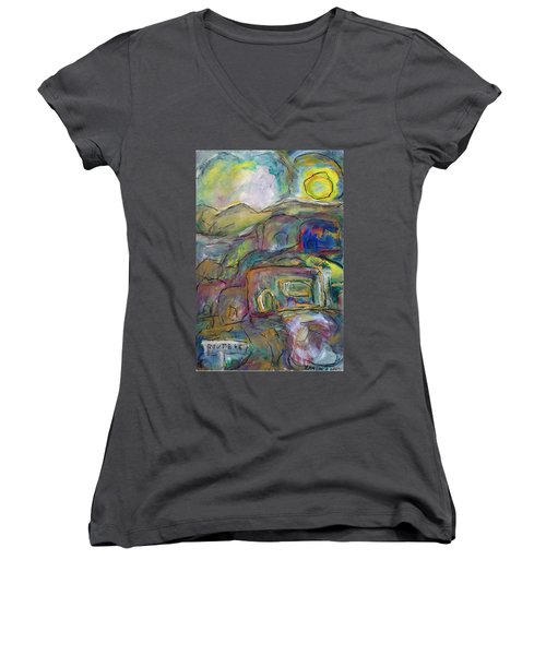 Route 66 Women's V-Neck