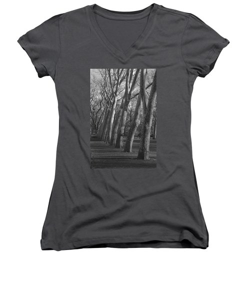 Row Trees Women's V-Neck T-Shirt