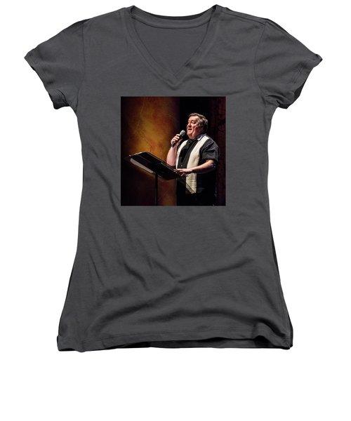 Rowan2 Women's V-Neck T-Shirt