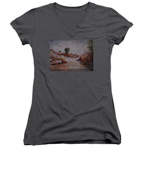 Rubbles Women's V-Neck T-Shirt