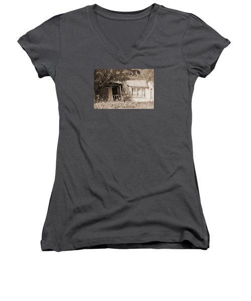 Rustic Women's V-Neck (Athletic Fit)
