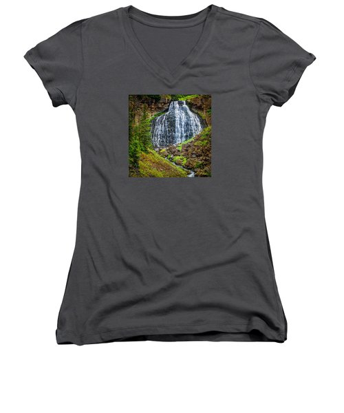 Rustic Falls  Women's V-Neck
