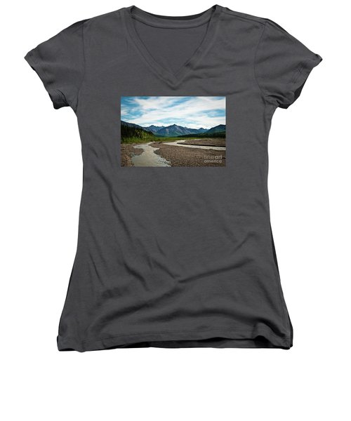 Rustic Water Women's V-Neck T-Shirt