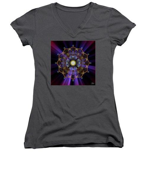 Sacred Geometry 647 Women's V-Neck