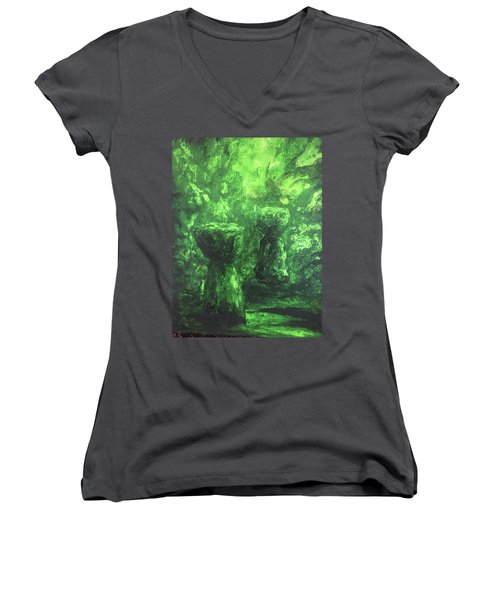 Sacred Latte Stones Women's V-Neck