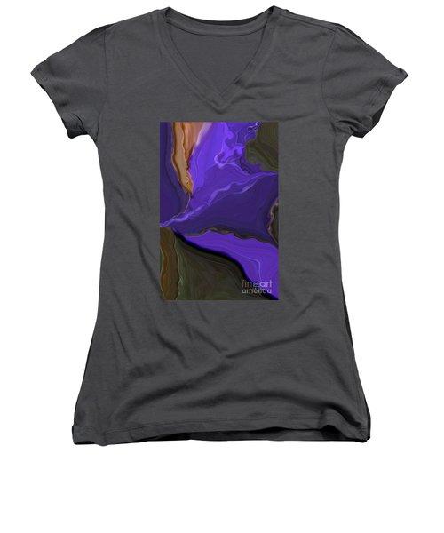 Sad Poem Women's V-Neck T-Shirt