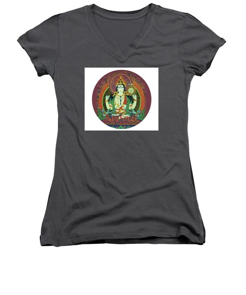 Sada Shiva  Women's V-Neck