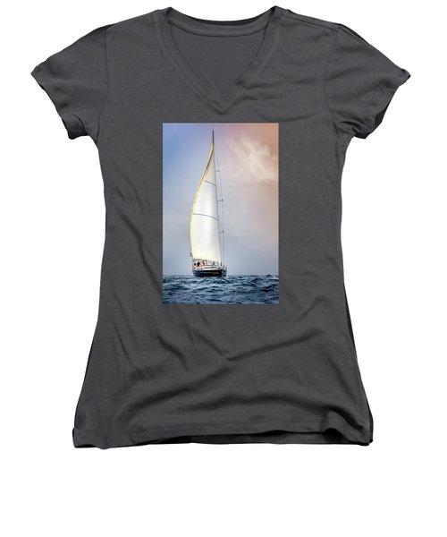 Sailboat 9 Women's V-Neck