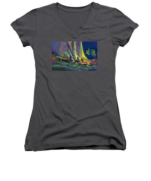 Sailing Women's V-Neck