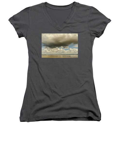 Sailing The Irrawaddy Women's V-Neck