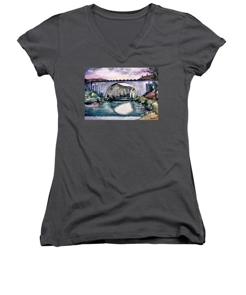 Saint Bridge Women's V-Neck T-Shirt