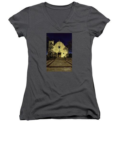 Saint Johns Women's V-Neck T-Shirt (Junior Cut)