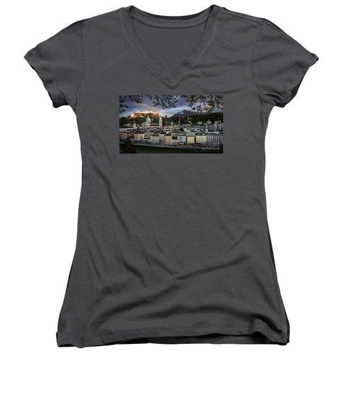Salzburg Women's V-Neck T-Shirt